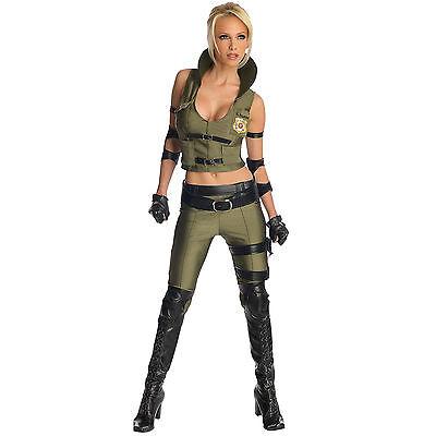 Mortal Kombat - Sonya Blade - Adult - Mortal Kombat Costume Women