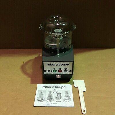 Robot Coupe R101bclr Combination Food Processor 2.5-liter Bowl Polycarbonate