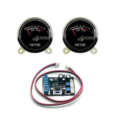 2pcs P-40sa Vu Meter Db Header Level Audio With Backlight Ta7318p Driver Board