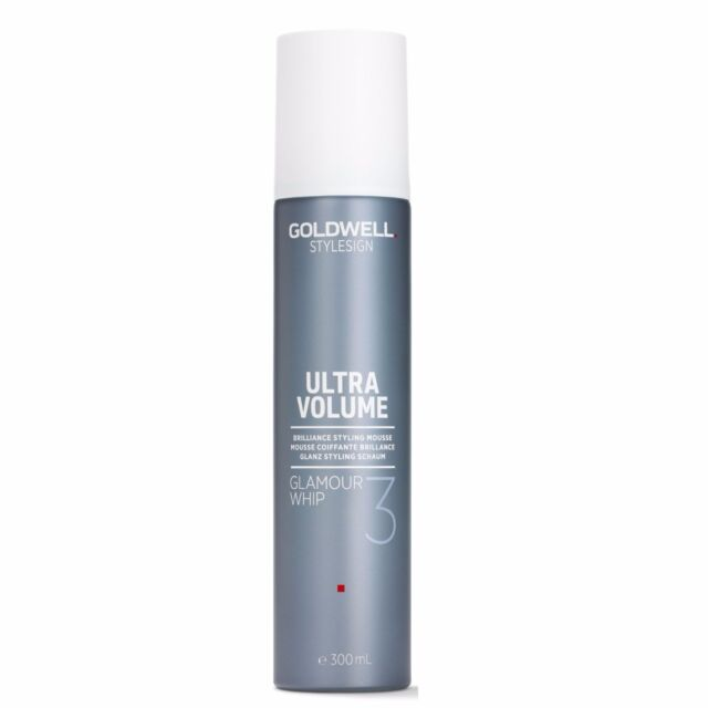 GLAMOUR WHIP Hair Styling Mousse Goldwell Enhanced Brilliance Radiance 300ml