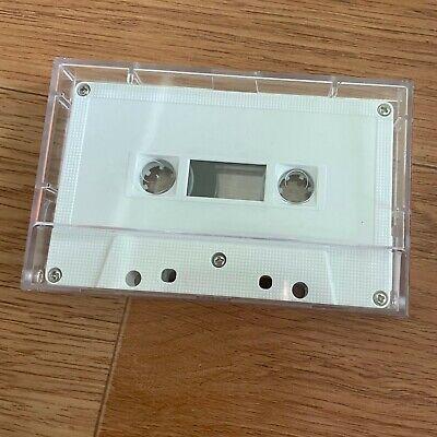 x 10 Empty Blank HARD Case Only for Audio Cassette Tape Bulk Pack Plastic Korean