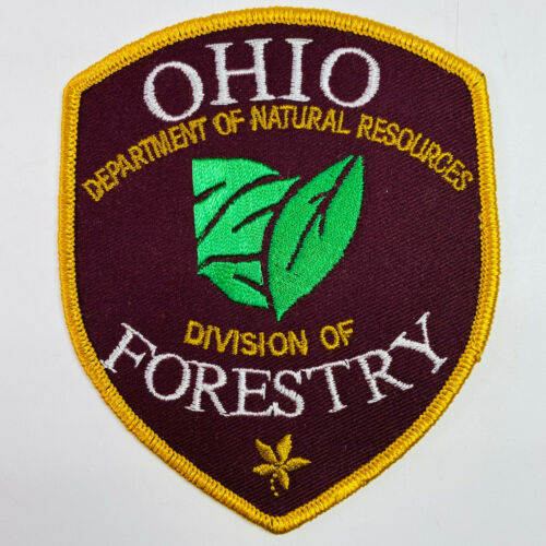 Ohio Department Of Natural Resources Division Of Forestry DNR OH Patch (A6-C)