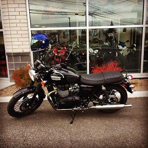 2015 Triumph Bonneville T100 Black 1900 km