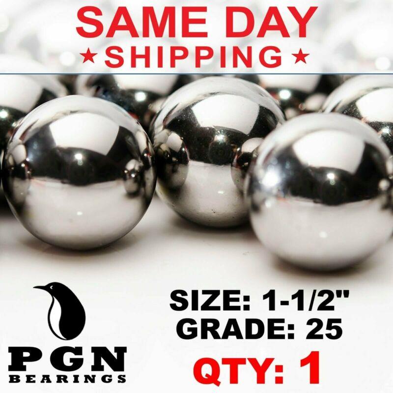 "1-1/2"" Inch G25 Precision Chrome Steel Bearing Balls Chromium AISI 52100"