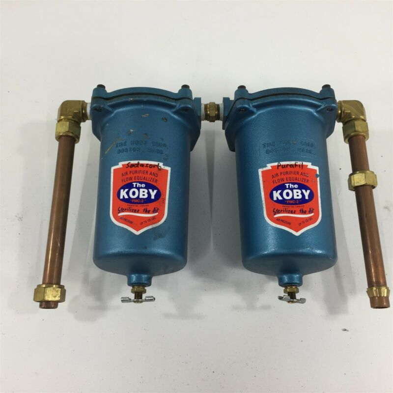 (2) Koby PMC-2 Air Purifier and Flow Equalizer - Lot of 2