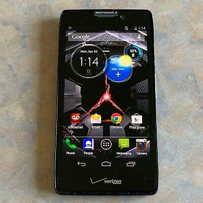 Motorola Droid Razr HD  XT926  CHECK IMEI w/ Verizon Clean ESN  32GB Black  J43