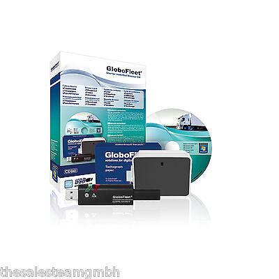 GloboFleet Starter Set Minimal DK mobil LKW Fahrerkarte und Tachograph auslesen