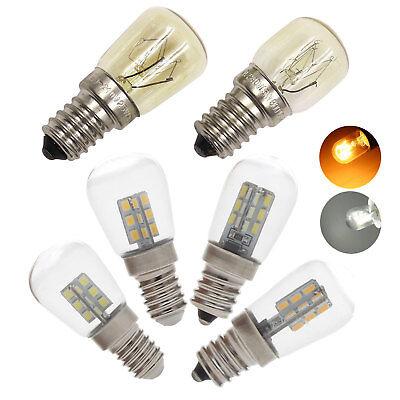(LED Oven Light Freezer Fridge Bulb 3W 4W 15W 25W E12 E14 High Temperature Lamps)