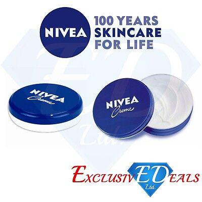 Nivea Creme Krem Face Body Hands Moisturiser Dry Skin Full body Foot Cream 50ml ()