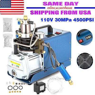110v 30mpa 4500psi Air Compressor Pump Pcp Electric High Pressure