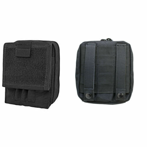SWAT Black Military Army Tactical Map Case Holder New Phone Camera Pouch