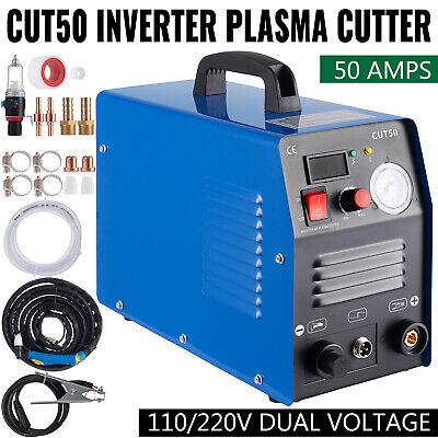 Cut50 Plasma Cutter 50 Amps Inverter Air Plasma Cutting 110v 220v High-frequency