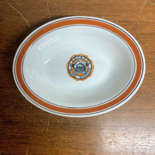 Vintage Warwick China Marietta High School Ohio Restaurant Ware Oval Dish