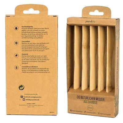 Pandoo Bambus-Messer, 5er-Set
