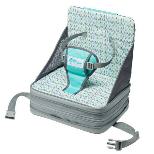 The First Years On-the-Go Inflatable Travel Feeding Baby Booster Seat, Portable
