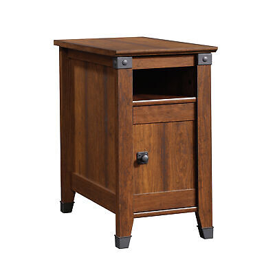 "Sauder 414675 Carson Forge Side Table L: 14.17"" x W: 22.44"""