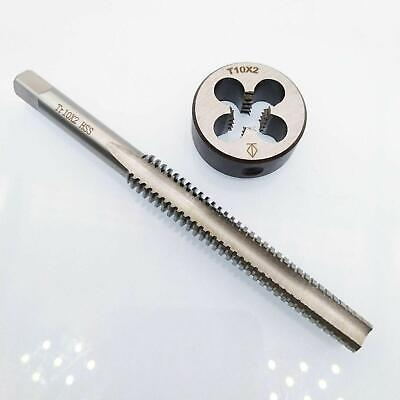 1set Tr10 X 2 Hss Right Hand Trapezoidal Thread Tap And Die