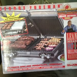 George Forman Split Grill and Stand.