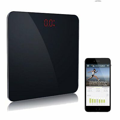 Bluetooth Body Fat Weight Scale Smart BMI Digital Bathroom Led Measure Fitbit US