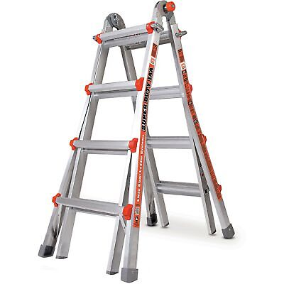 Little Giant 10402 Super Duty Type 1aa 375lbs Rated 17 Multi-use Ladder