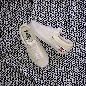 Vans Slip-on Cap Lx Deconstructed Marshmallow (US 8.5)