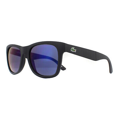Lacoste Gafas de Sol L778S 002 Negro Mate Azul Degradado Plegable