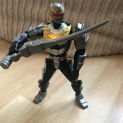 "Power Rangers MEGAFORCE Metallic Robo Knight Ranger 6"" Figure"