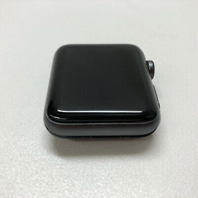 Apple Watch Series 2 42mm Space Gray Aluminum Case Watch, NO BAND