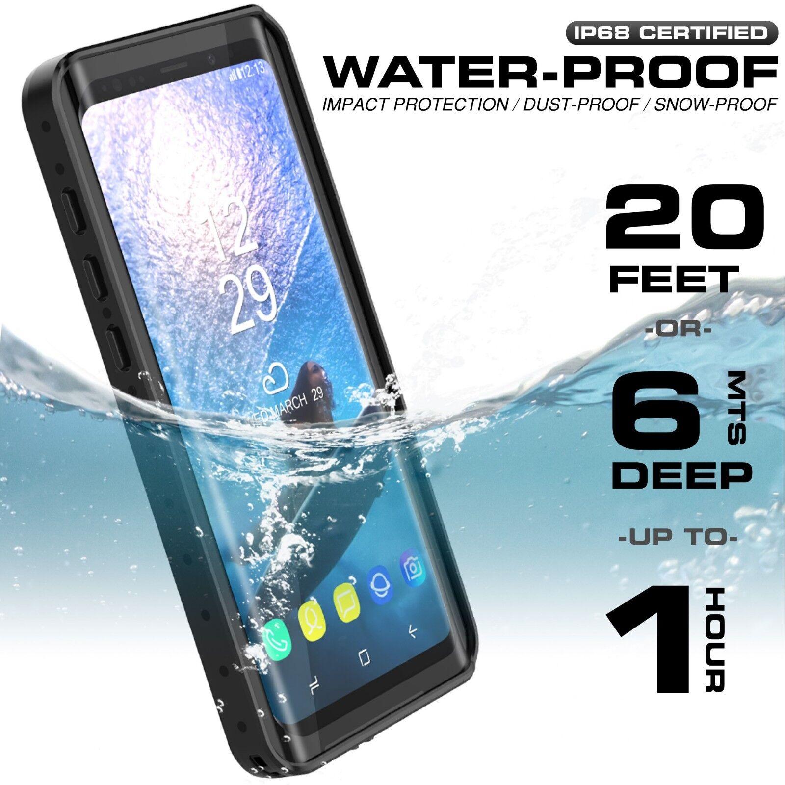 Waterproof Case Underwater Shockproof Dirtproof Cover For Samsung Galaxy S9 Plus