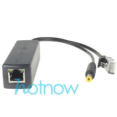 4pcs Active PoE Splitter Power Over Ethernet 48V to 12V for IEEE802.3af 1A-2A