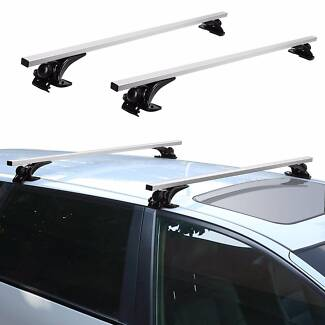 "Top Luggage Cross Bars 1370mm 54"" Car Roof Rack Carrier Aero"