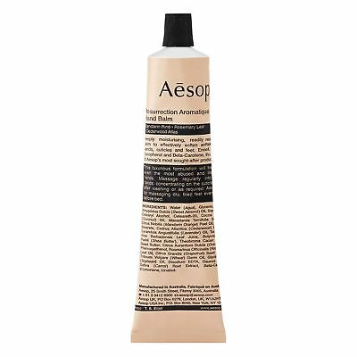Aesop Resurrection Aromatique Hand Balm 75Ml 2 58Oz Hand Cream Treatment