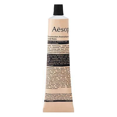 Aesop Resurrection Aromatique Hand Balm 75ml 2.58oz Hand Cream Treatment