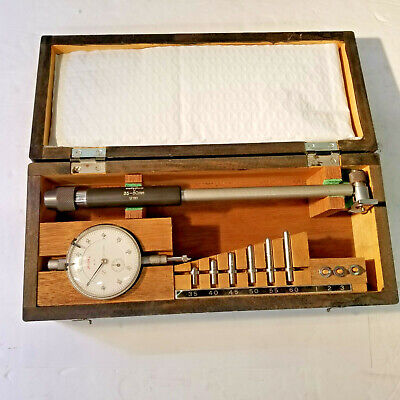 Dial Bore Gage Takachiho Seiki Japan 35mm To 60mm .01mm Resolution Used