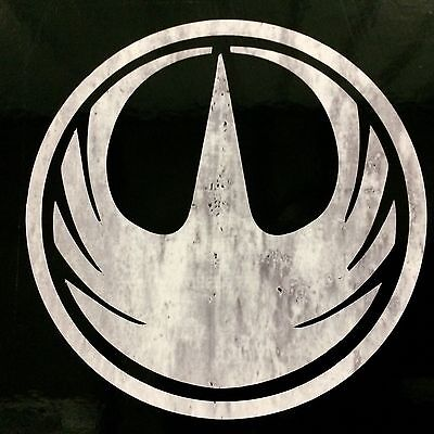 Star Wars, Rogue One - Weathered Star Bird Logo. FREE SHIPPING