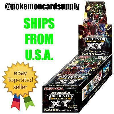 Japanese Pokemon Card Game TCG THE BEST OF XY Sealed Booster Box SHIPS FROM USA!