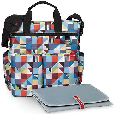 NEW SKIP HOP PRISM DUO SIGNATURE BABY MATERNITY NAPPY CHANGING BAG & ACCESSORIES