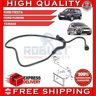 FORD FIESTA FUSION RADIATOR EXPANSION TANK OVERFLOW HOSE PIPE 1546444