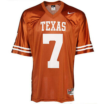 Texas Longhorns #7 Twill Football Jersey (Twill Football Jersey)
