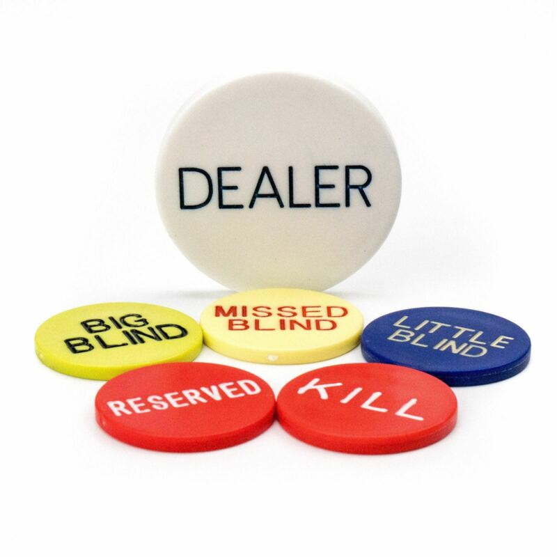 Dealer Button Kit