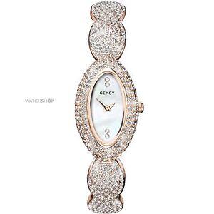 Seksy Ladies' Elegance Rose Gold Bracelet Watch. Model 4207 RRP 129.99