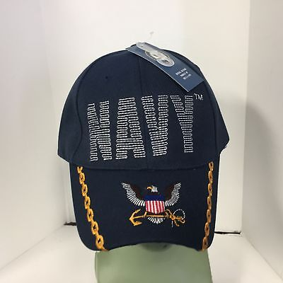 Baseball Cap US NAVY STITCH Official Licensed Hat New -FREE SHIPPING 596C
