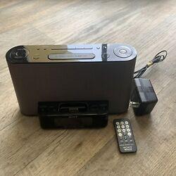 SONY DREAM MACHINE ICF-CS10iP AM FM Clock Radio w/ ipod / iphone Speaker Dock