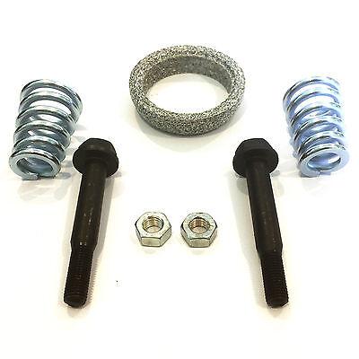 Set Exhaust Gasket Screws Springs Nuts Gasket Exhaust Pipe Assembly Kit