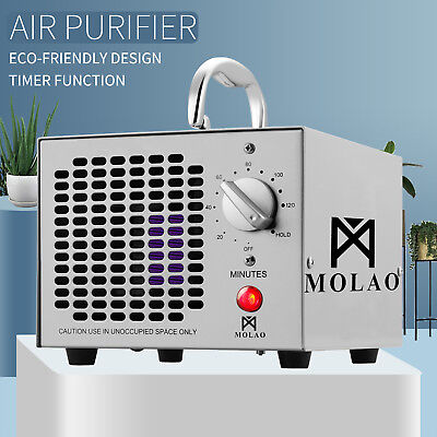 Commercial OZONE Generator Air Purifier Mold Mildew Smoke Pets Odor Dust Remover