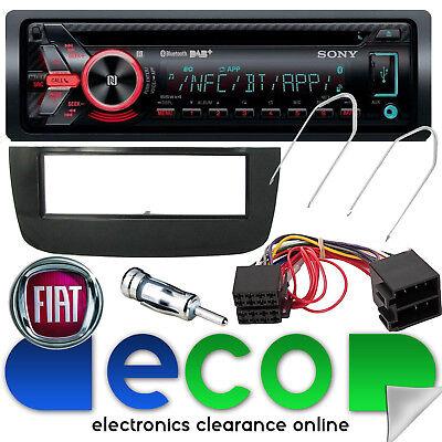 Fiat Punto EVO Sony DAB CD MP3 USB Bluetooth Car Radio Stereo Steering Wheel Kit for sale  United Kingdom