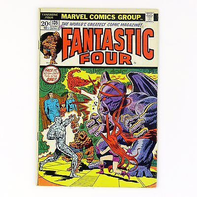 Fantastic Four #135 -- bronze age Marvel comic (VG+ | 4.5)