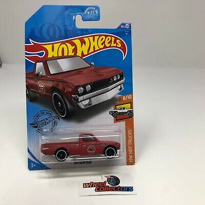 Datsun 620 #182 JDM * RED * USA 2020 Hot Wheels Case L * T3