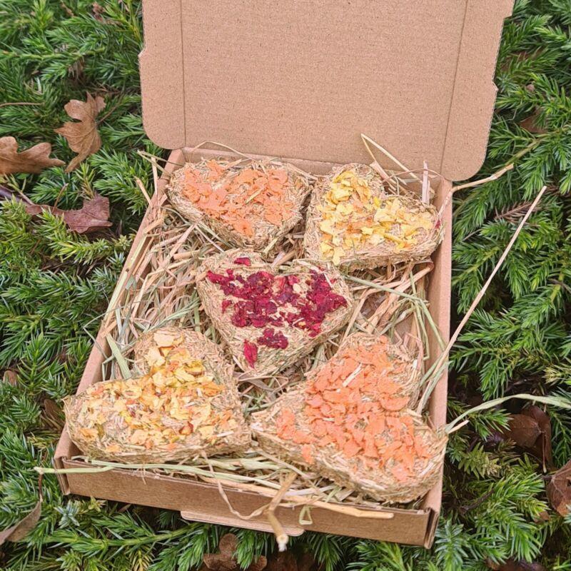5+Homemade+natural+rabbit+guinea+pig+treats+autumn+halloween+gift+hay+cookies