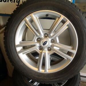 215 60 17 Winter tires on Ford rims with TPMS sensors
